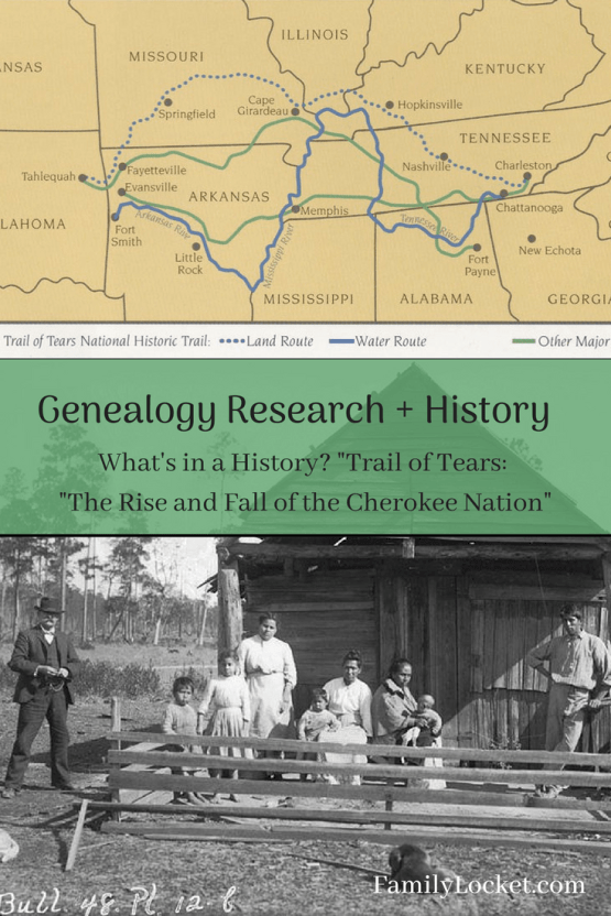 """What's In a History? """"Trail of Tears: The Rise and Fall of"""