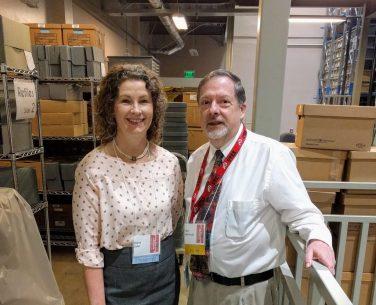 Diana and Archivist, Glen