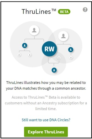 Thrulines main page