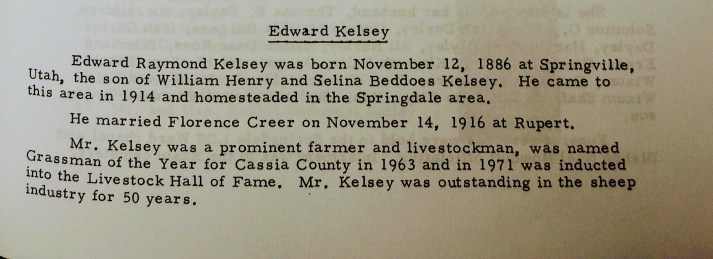 Biography of Edward Kelsey