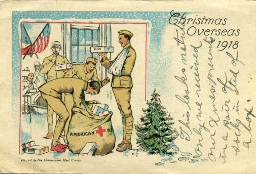 1918 Dec. 27 Postcard from Loyal Hale to wife Lila