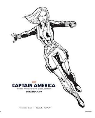 CAPTAIN AMERICA: THE WINTER SOLDIER Activity Book and TV