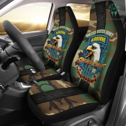 101st Airborne, Screaming Eagles Car Seat Covers %tag familyloves.com
