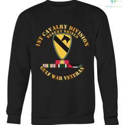 1st cavalry division desert shield gulf war veteran men, women hoodie %tag familyloves.com