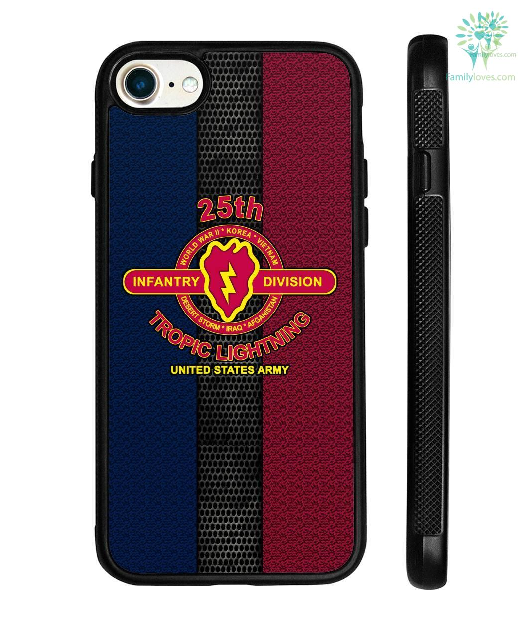 25th Infantry Division tropic lightning United States Army? iPhone cases -  FamilyLoves Com