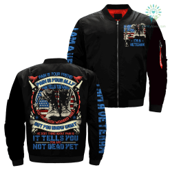 familyloves.com Pain Is Your Friend Pain Is Your Ally Pain Tells You When Over Print Jacket %tag