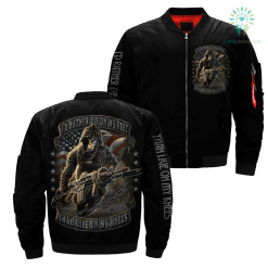 familyloves.com I'd rather die on my feet than live on my knees Over Print Jacket %tag