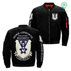 503rd Airborne Infantry Regiment over print jacket %tag familyloves.com