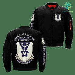 503rd Airborne Infantry Regiment over print jacket %tag familyloves.com