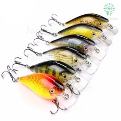 6pc PRO BEROS Brand Fishing lure Default Title %tag familyloves.com