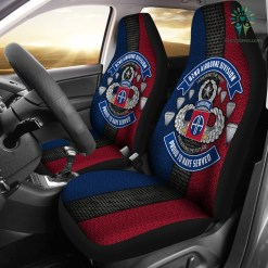 82nd Airborne Division Proud to have served Car Seat Covers %tag familyloves.com