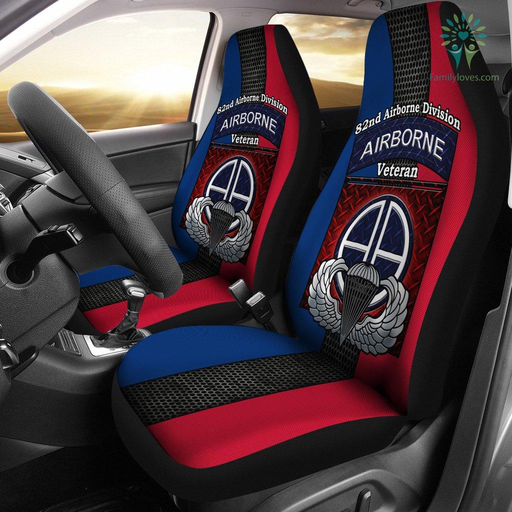 Car Seat Pillow >> 82nd Airborne Division Airborne veteran Car Seat Covers ...