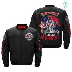 82nd AIRBORNE DIVISION, ALL AMERICAN - OVER PRINT JACKET %tag familyloves.com
