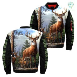 familyloves.com 3D All Over Printed Bow Hunting Jacket %tag