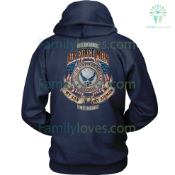 AIR FORCE MOM, MY SON MY AIRMAN MY HERO HOODIE %tag familyloves.com