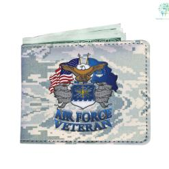 familyloves.com Air Force veteran Men's Wallet Default Title %tag