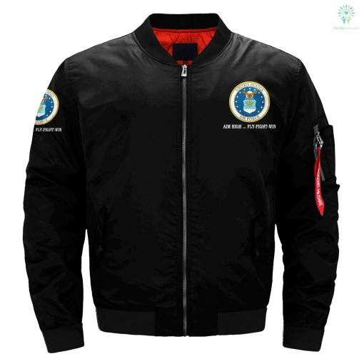 Air Force Veterans over print jacket %tag familyloves.com
