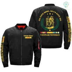 all gave some, 58479 gave all, Vietnam Veteran of America Over Print Jacket %tag familyloves.com