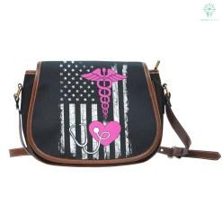 American Nurse Saddle Bag %tag familyloves.com