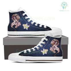Aries High Shoes White %tag familyloves.com