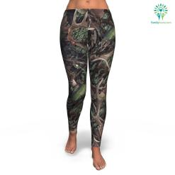 Army Hunting all-over print leggings %tag familyloves.com