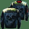 familyloves.com Island Skull Over Print Jacket %tag