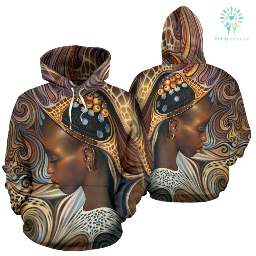 BLACK ART AMERICAN NATIVE OVER PRINT HOODIE %tag familyloves.com