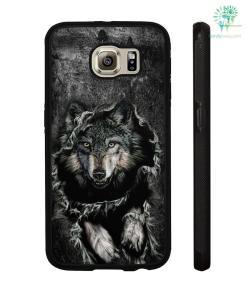 Breakthrough Wolf Samsung, iPhone case %tag familyloves.com