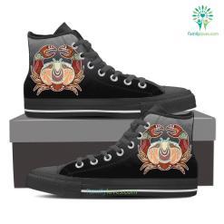 Cancer High Shoes Black %tag familyloves.com