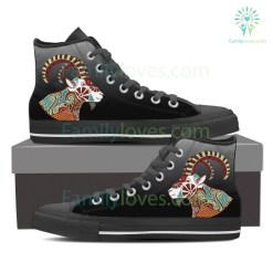 Capricorn High Shoes Black %tag familyloves.com