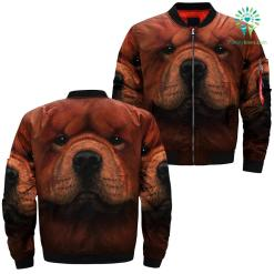 Chow Chow Dog over print jacket chow payment shipping %tag familyloves.com