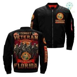 familyloves.com Combat veteran freedom isn't free Florida over print jacket %tag