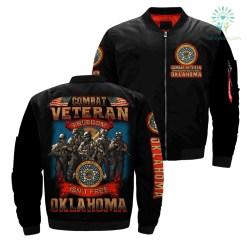 familyloves.com Combat veteran freedom isn't free OKLAHOMA over Print jacket %tag