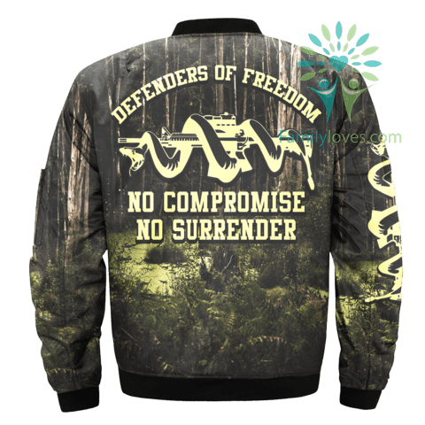 defenders-of-freedom_664f109b-4870-14b6-6d49-bc1b6b015aa7 DEFENDERS OF FREEDOM, NO COMPROMISE NO SURRENDER OVER PRINT JACKET  %tag