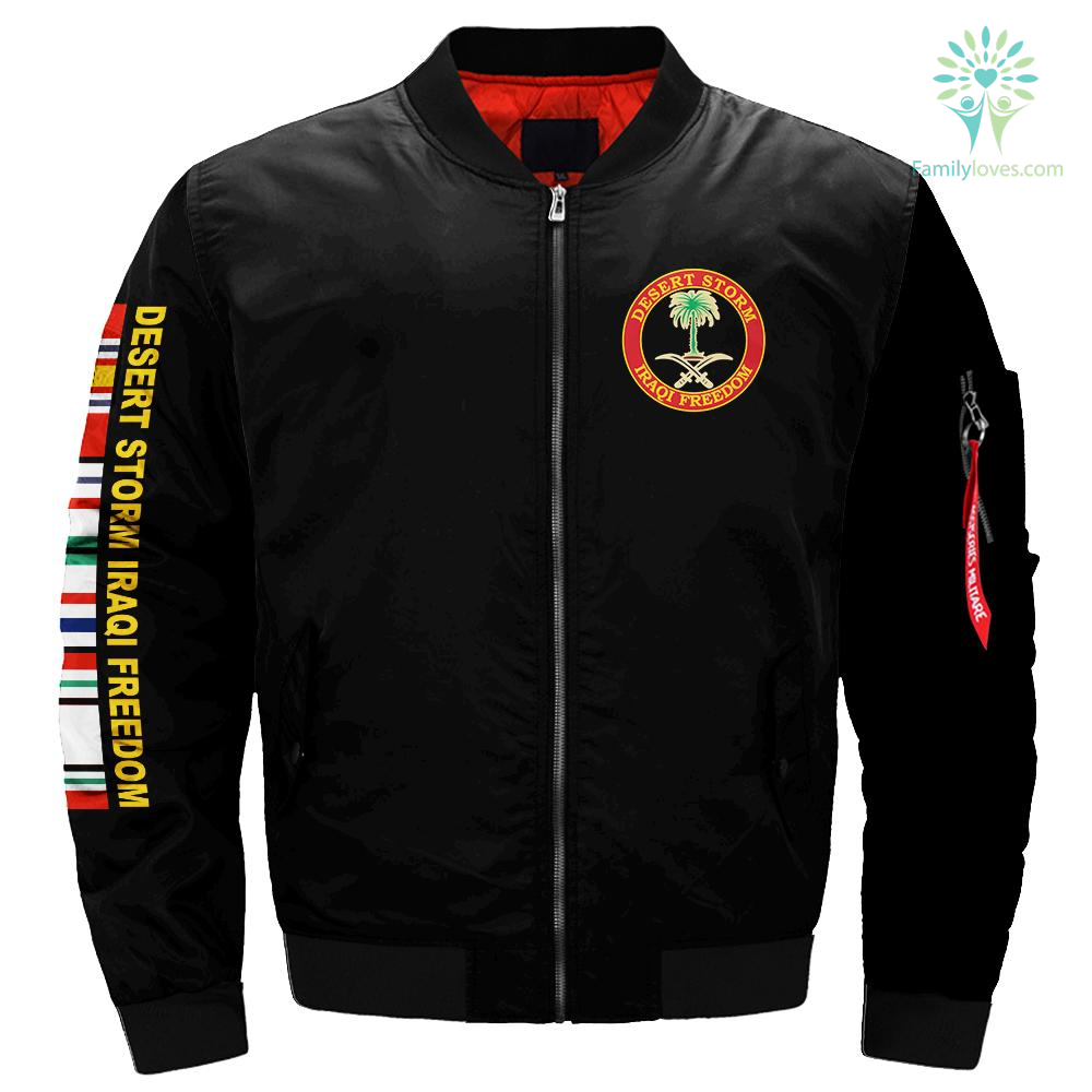 Desert storm iraqi freedom veteran over print jacket payment shipping %tag familyloves.com