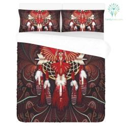 familyloves.com DREAMCATCHER EAGLE NATIVE 3-Piece Bedding Set 1 Duvet Cover 2 Pillowcases %tag