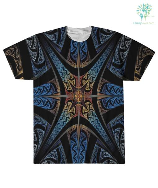 Eagleskull American Native Over Print T-Shirt %tag familyloves.com