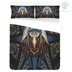 Eagleskull American Native 3-Piece Bedding Set 1 Duvet Cover 2 Pillowcases %tag familyloves.com
