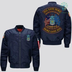 EMBROIDERED JACKET U.S AIR FORCE, ALL GAVE SOME SOME GAVE ALL, IN MEMORY OF OUR FALLEN BROTHERS AND SISTERS %tag familyloves.com