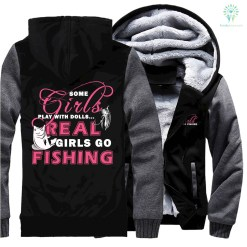 Fishing Girl Sweatshirts jacket hoodie %tag familyloves.com