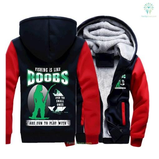 Fishing is like boobs new zip hoodie 2017 fishing hoodie %tag familyloves.com