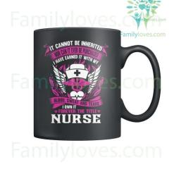 familyloves.com Forever The Title Nurse Mugs %tag