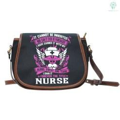 Forever the title Nurse Saddle Bag %tag familyloves.com