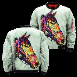 Funky Horse over print jacket %tag familyloves.com