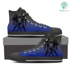 Gemini High Shoes Blue %tag familyloves.com