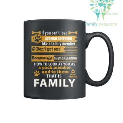 GERMAN SHEPHERD DOG - MUGS %tag familyloves.com