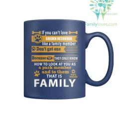 GOLDEN RETRIEVER DOG - MUGS %tag familyloves.com