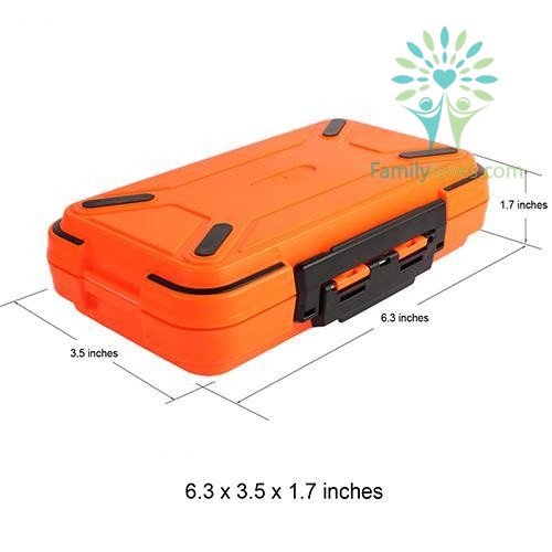 Goture Double Layer Hard Plastic Fishing Tackle Box %tag familyloves.com