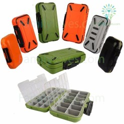 familyloves.com Goture Double Layer Hard Plastic Fishing Tackle Box %tag