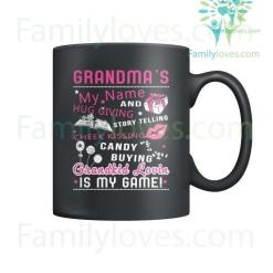 GRANDMA'S MY NAME - MUGS %tag familyloves.com